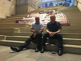 KLARE FOR NYE SPRELL: Magne Braaten og Stig Ekelund gleder seg til å arrangere tysk ompafest igjen.