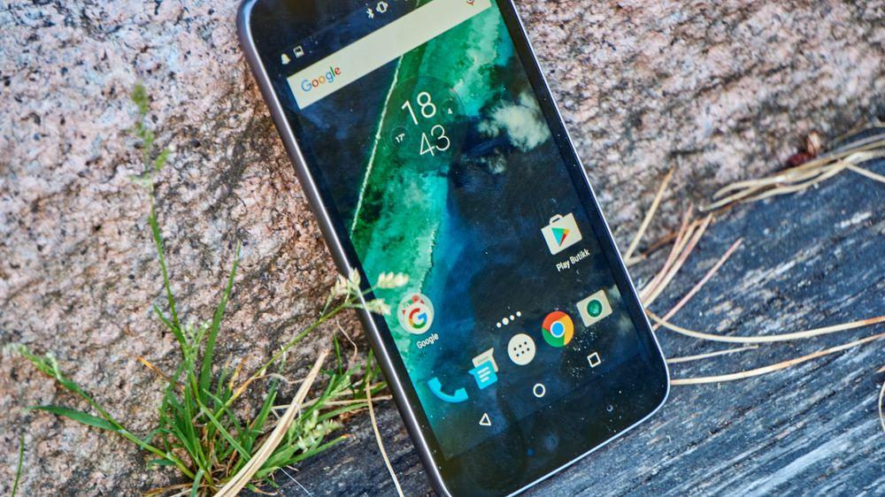 Moto G4 Play kjører nesten ren Android.