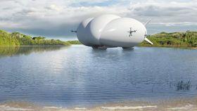LMH-1 krever en del plass, men kan til gjengjeld lande på vann.