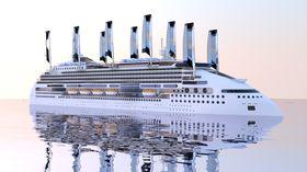 Ecoship skal ha 40 prosent lavere energibruk enn dagens cruiseskip.