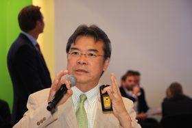 Yoshioka Tatsuya er både grunnlegger og sjef for Peace Boat.