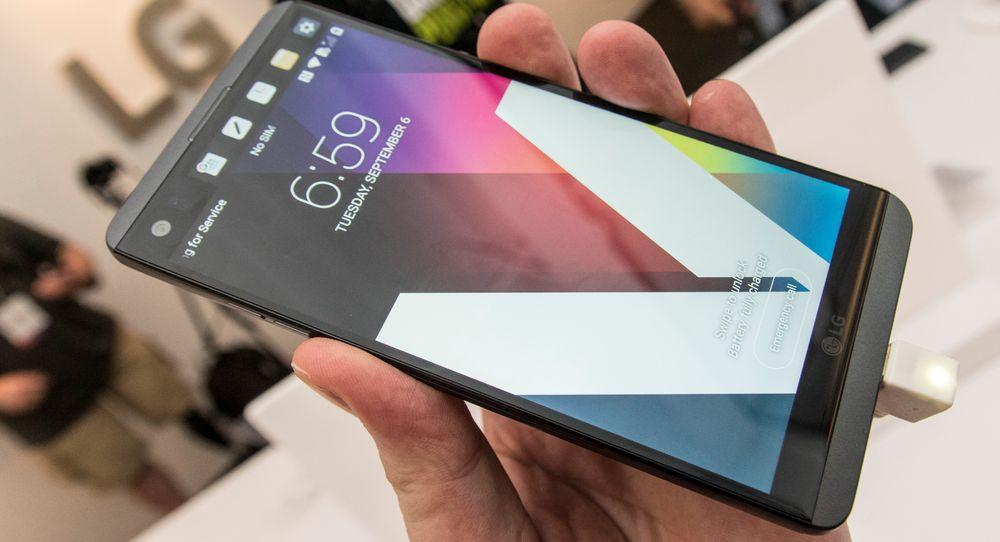 LG V20 imponerte rett og slett under kveldens lansering her i San Francisco. Telefonen har mye av alt, og skal i tillegg tåle å gå i bakken.