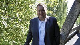 BEKREFTER: Ordfører Thomas Sjøvold bekrefter at Høyre har vært på domeneshopping, men er ellers ordknapp.