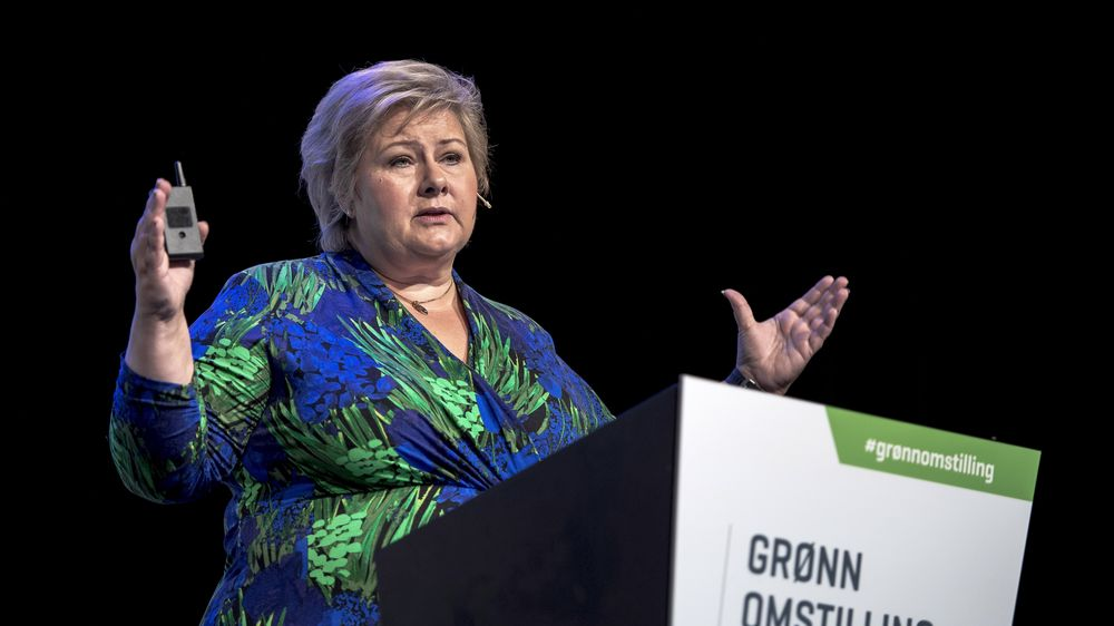 Statsminister Erna Solberg åpnet havkonferansen i regjeringens konferanseserie om grønn omstilling. Denne gangen var konferansen lagt til Stavanger.