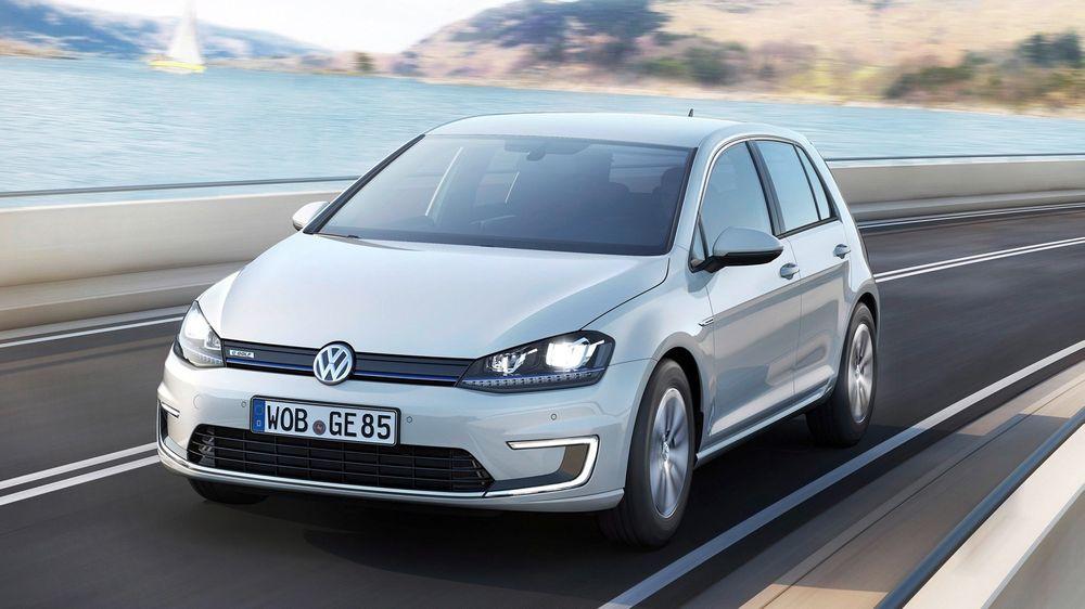 Statistikken viser at hele 37,1 prosent av elbilene så langt i år en Volkswagen e-Golf.