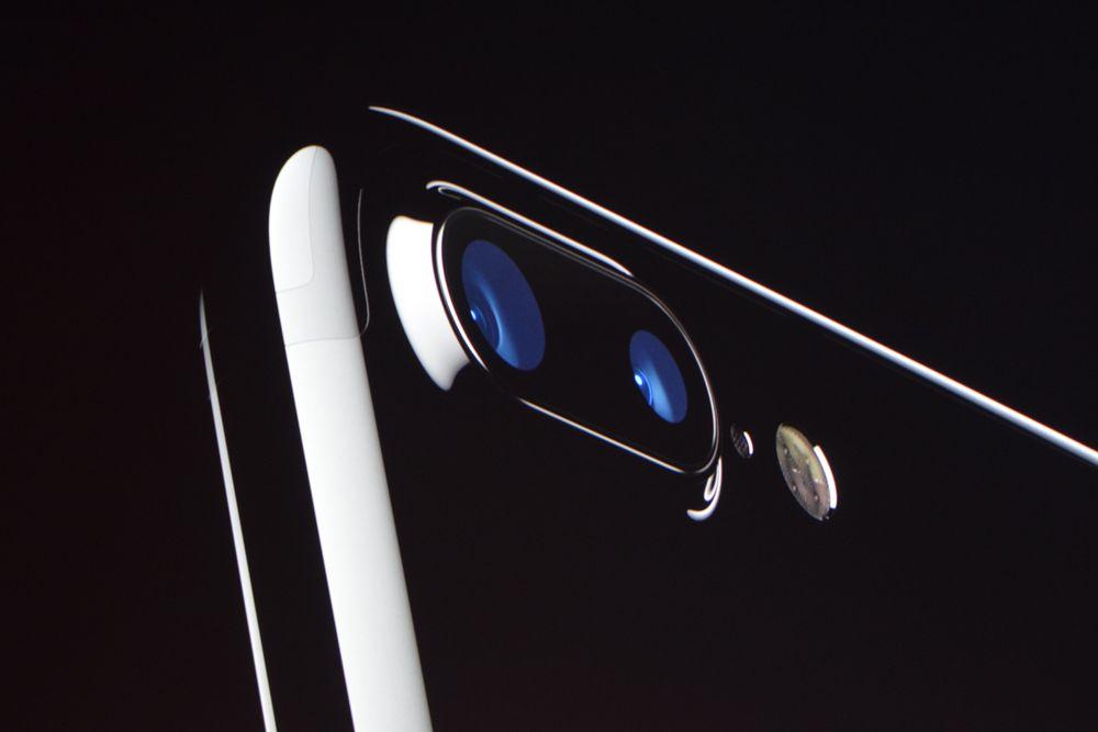 iphone 7 Plus har nå to forskjellige kameraer.