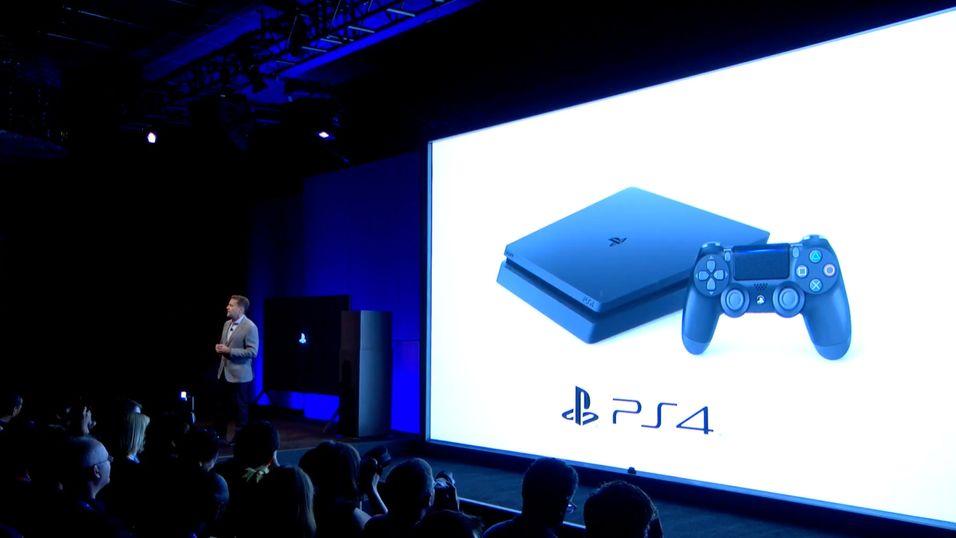 Sony lot som om ingen hadde sett PlayStation 4 Slim på forhånd da de avduket den