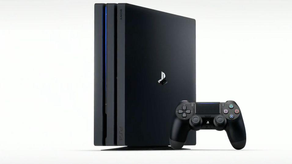 Her er PlayStation 4 Pro.
