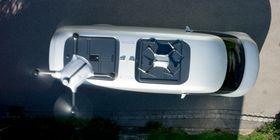 Droner kan levere pakker underveis.