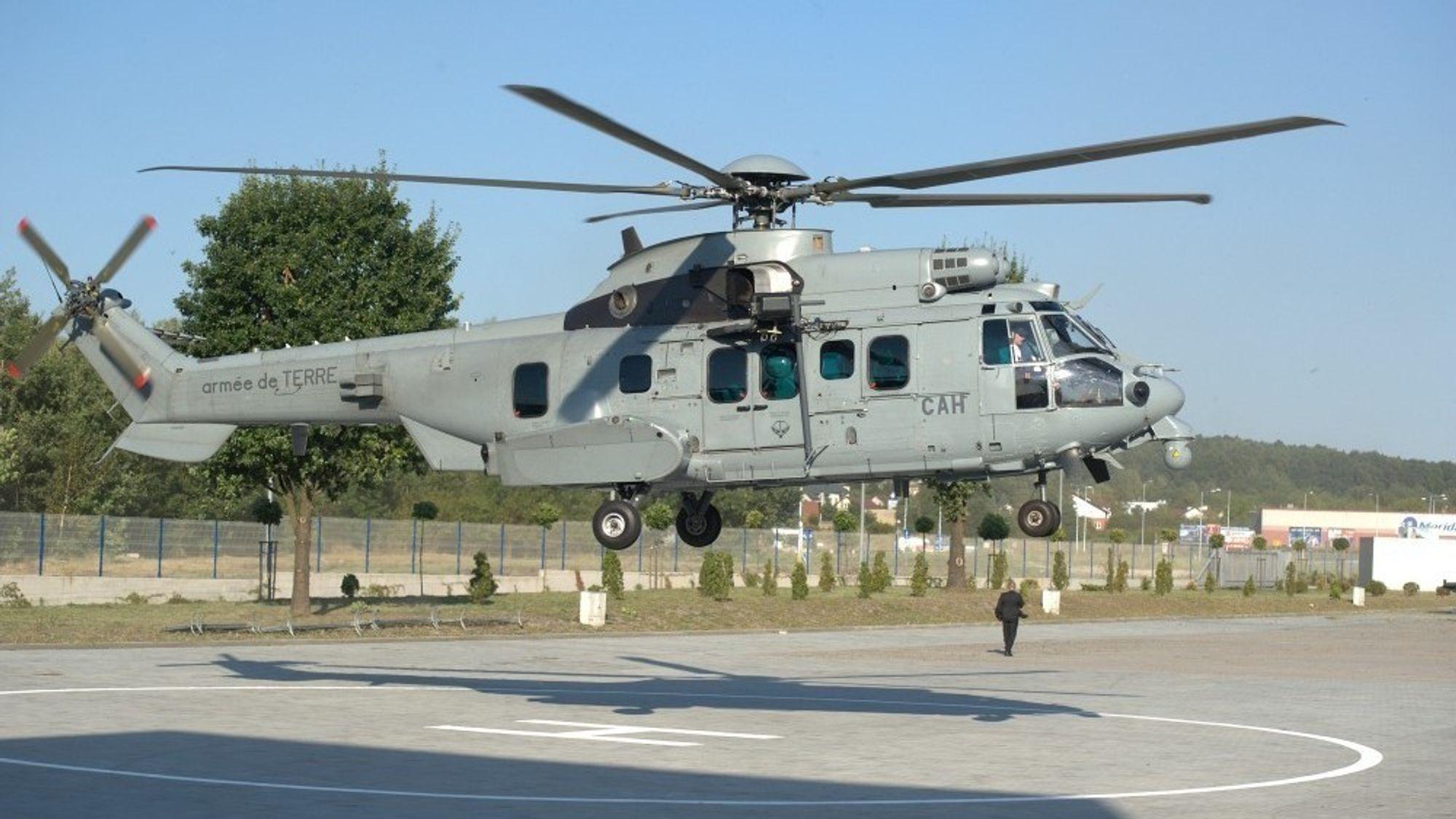 H225M Caraca lander i Polen tidligere denne uka. Dersom alt klaffer for Airbus Helicopters, har de solgt hele 80 slike helikoptre på en måned.