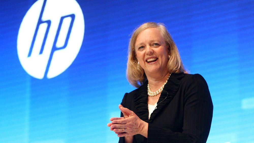 Meg Whitman overtok toppjobben i Hewlett-Packard i 2011. Det siste året har vært hektisk og selskapet er inne i store endringer.