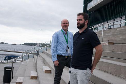 Eirik Moen og Ermal Mujaj i NTT Security har årelang erfaring med sikkerhet.