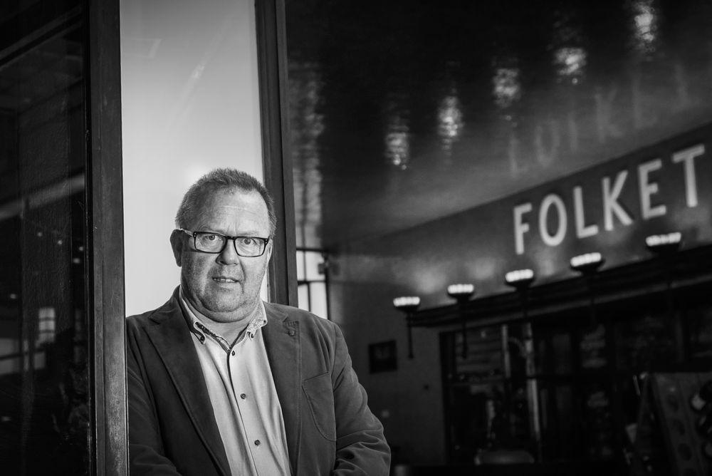 Jan Olav Andersen, leder av EL og IT Forbundet