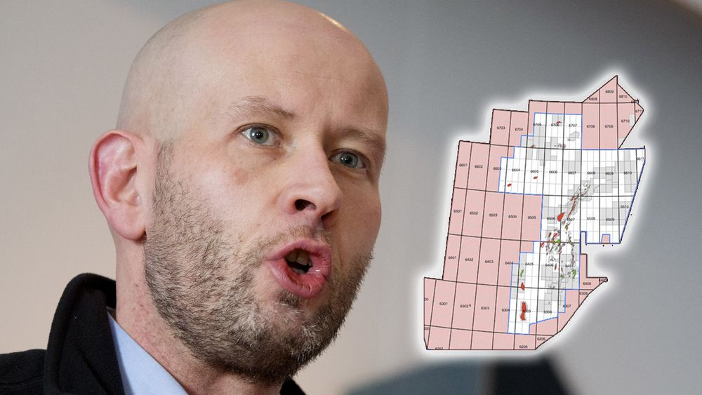 Olje- og energiminister Tord Lien havnet i bråk etter å ha åpnet Nordland 6 for nominasjon i 24. konsesjonsrunde.