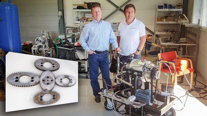 Er fremtidens forbrenningsmotor klekket ut i Tvedestrand?