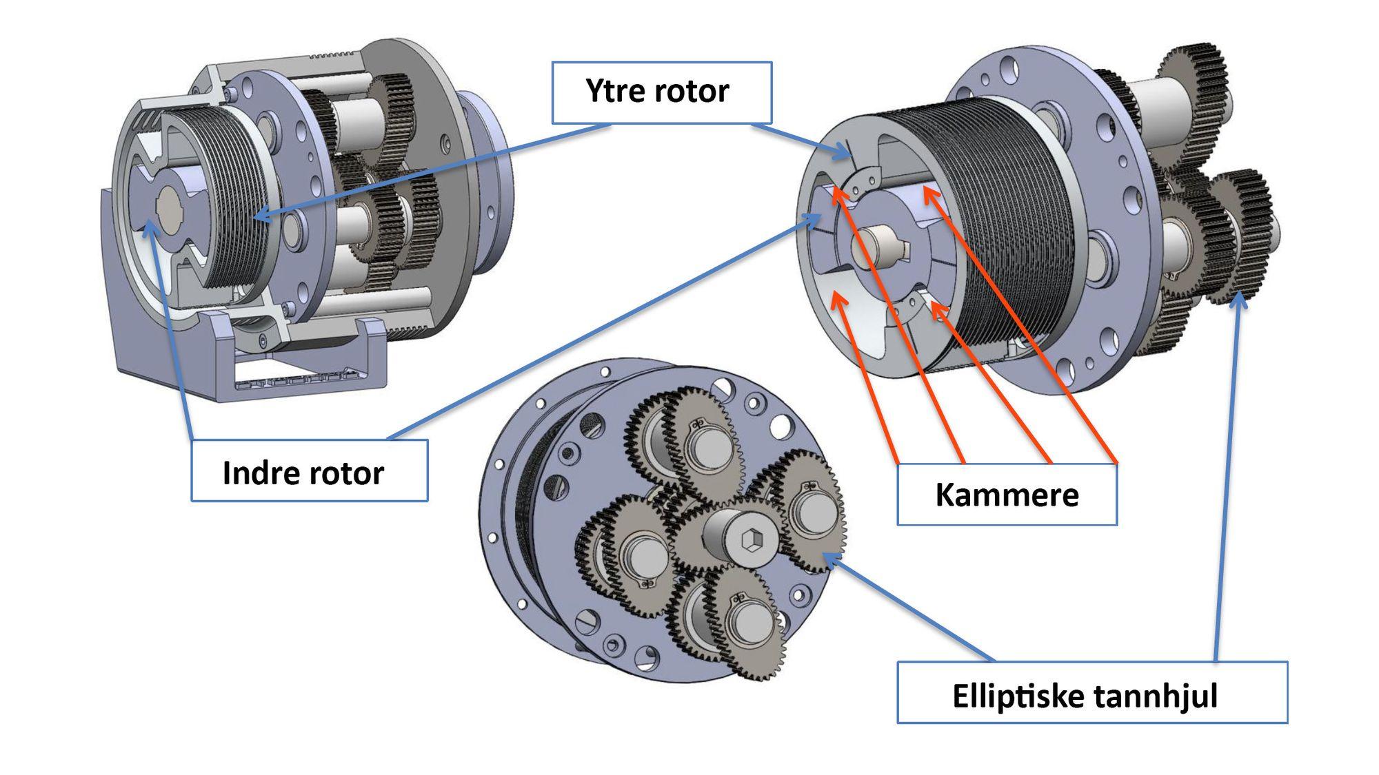 Forbrenningsmotor animasjon
