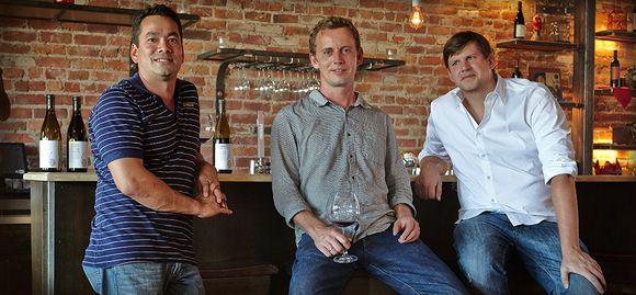 Webster Marquez, Anthony Filiberti og David Low.
