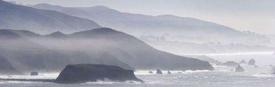 Det er så kjølig som det ser ut til ved Sonomas kyst.