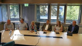 KLARTE IKKE Å BLI ENIGE: Ordførerne i Follo-kommunene klarte ikke å enes om å slå sammen alle Follo-kommunene.