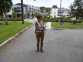 STORE PLANER: I Oppegård Avis kunne du nylig lese at det planlegges 1200 nye boliger på Kolbotn. Her ser du plansjef Anne Holten.