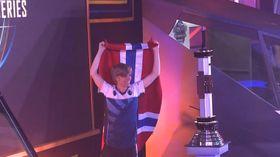 Jens «Snute» Aasgaard jubler etter seieren i Copa Intercontinental.