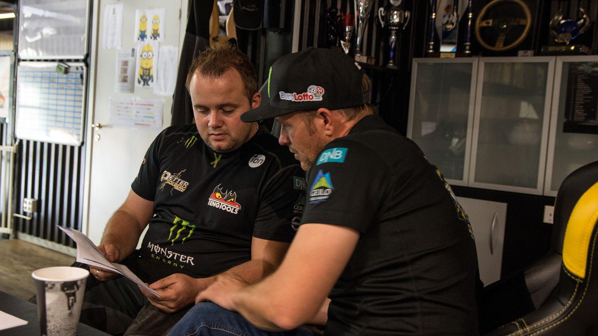 Ole Johan Rustad er sjefsmekaniker for Petter Solberg. De jobber kontinuerlig med å oppgradere og videreutvikle bilen.