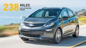 GM har annonsert rekkevidden på Chevrolet Bolt.