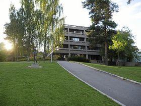 VÅRT RÅDHUS I DAG: Slik ser dagens rådhus i Oppegård ut i idag.