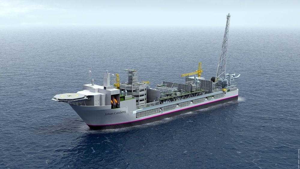 Statoil ønsker ikke å forsyne Johan Castberg-feltet med kraft fra land. Omtrent slik kan produksjonsskipet se ut.