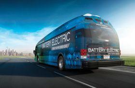 Denne bybussen skal kunne dekke de fleste behov i amerikanske byer.