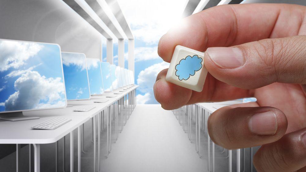 Kunden trenger ikke nødvendigvis en egen IT-avdeling med nettverkskompetanse, alt kan handles inn som en nøkkelferdig tjeneste fra nettskyen. Illustrasjonsfoto.