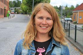 OPPTATT AV TRAFIKKSIKKERHET: Virksomhetsleder i UTE Oppegård, Heidi Tomten.