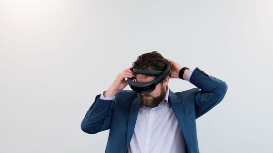 Vil jobbe med HoloLens: Scott Leaman, som er sjef for teknisk innovasjon i Avanade i Norge.