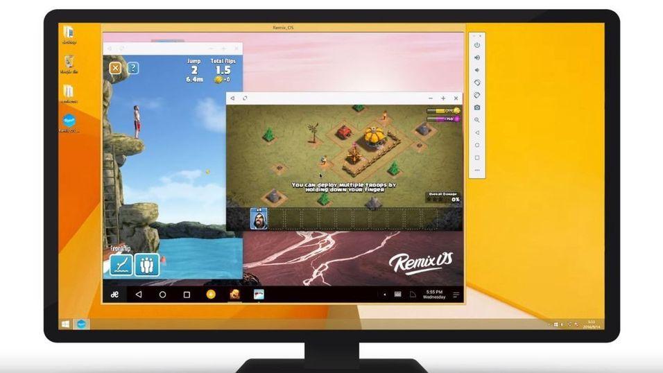 Remix OS Player lar deg enkelt kjøre Android-apper i Windows.