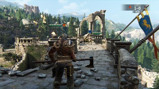 To vikinger møtes til dyst.