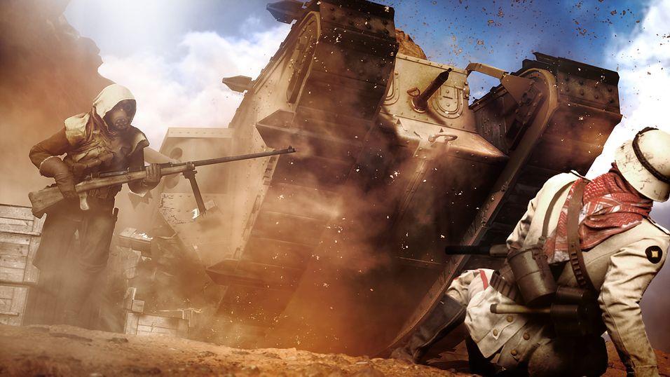 Over 13 millioner spilte Battlefield 1-betaen