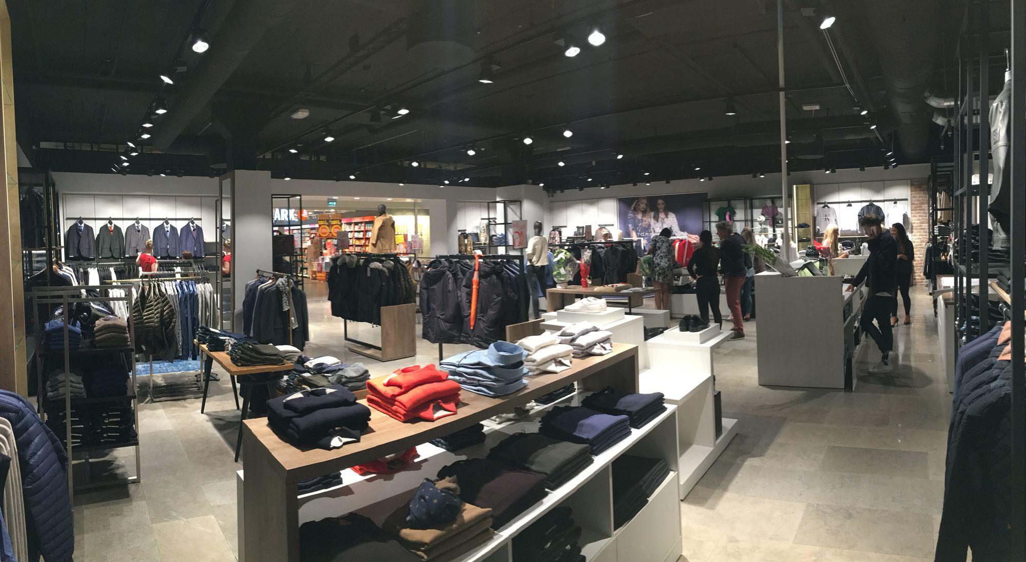 STORT: Den nye butikken er på 265 kvadratmeter.