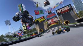 Trackmania Turbo.