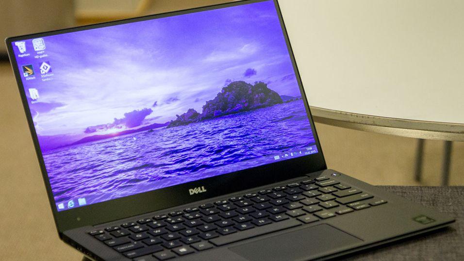 Bilde tatt fra vår test av forrige generasjon Dell XPS 13.