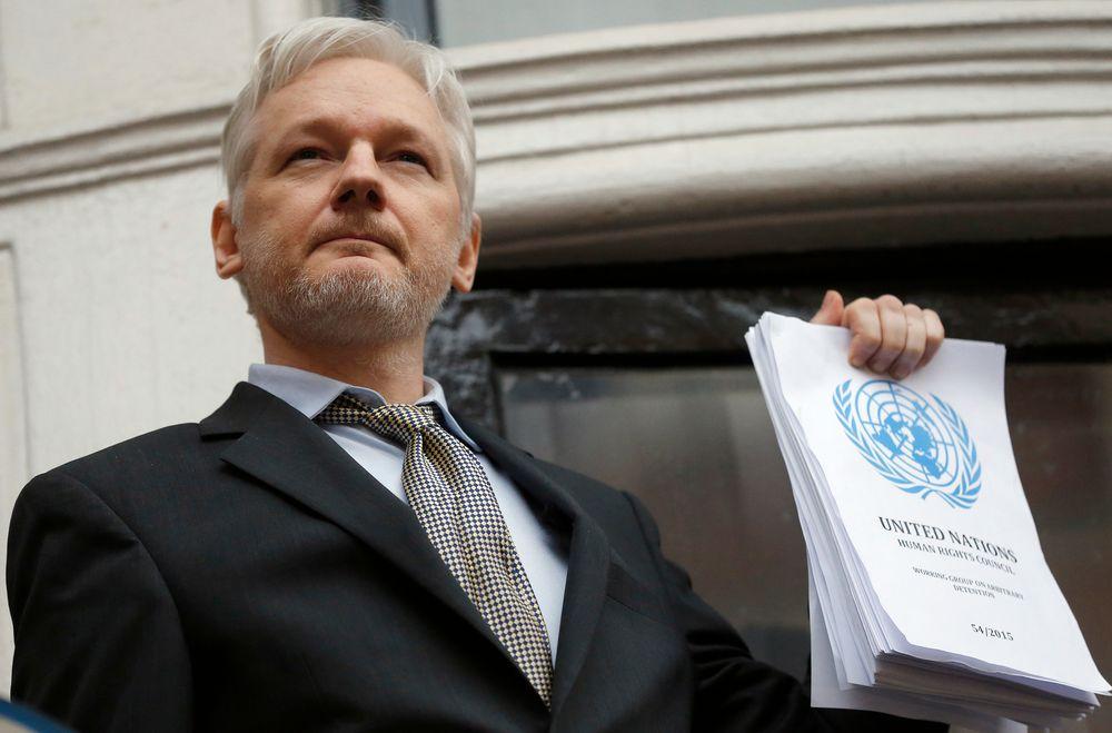 Julian Assange i WikiLeaks.