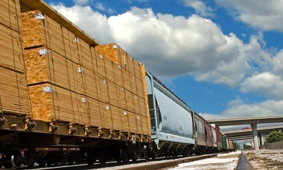 Sende gods med tog