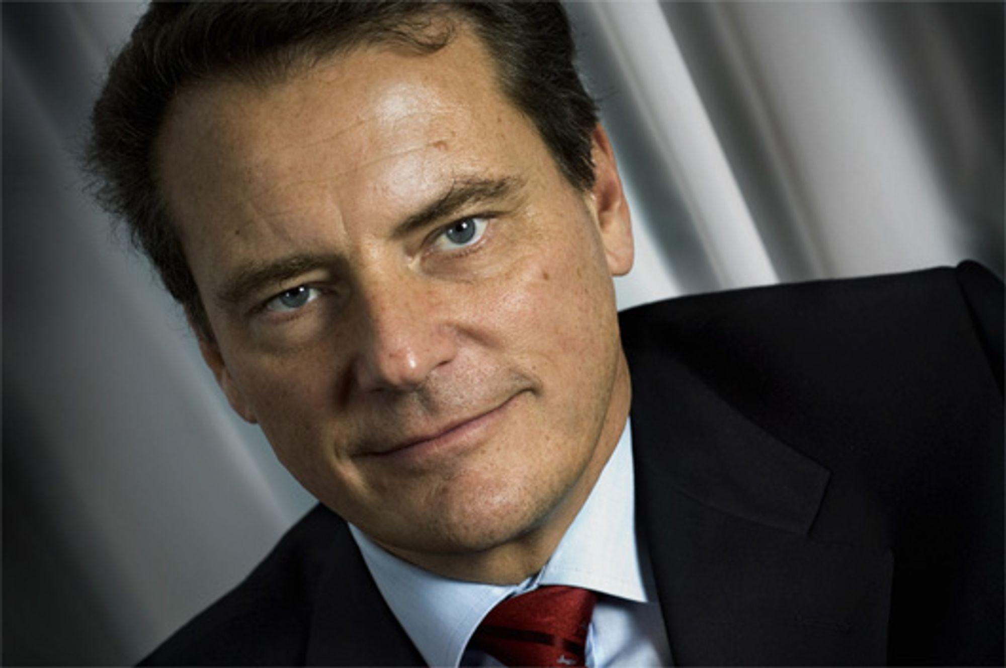 Carl-Henric Svanberg, administrerende direktør i Ericsson.