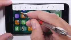 Se hvordan iPhone 7 tåler tøff skrapetest
