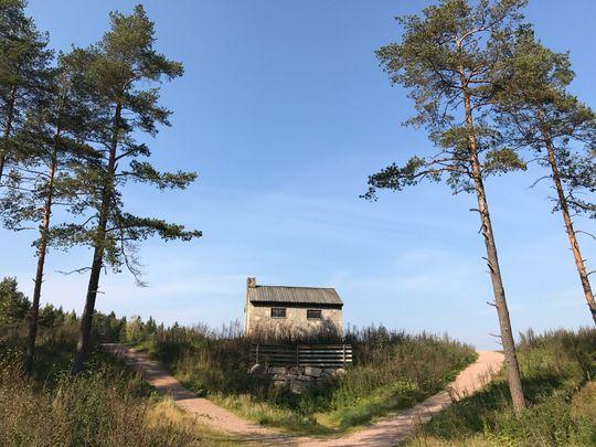 Det lille huset på prærien - også kjent som Steinbruvann. 1x zoom.