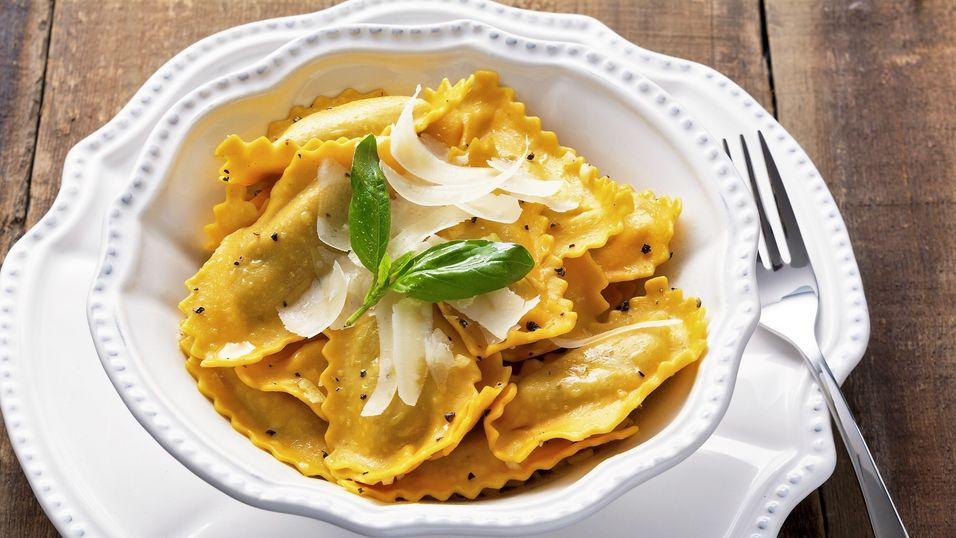 DAGENS RETT: Lag ravioli slik en italiensk mamma gjør det