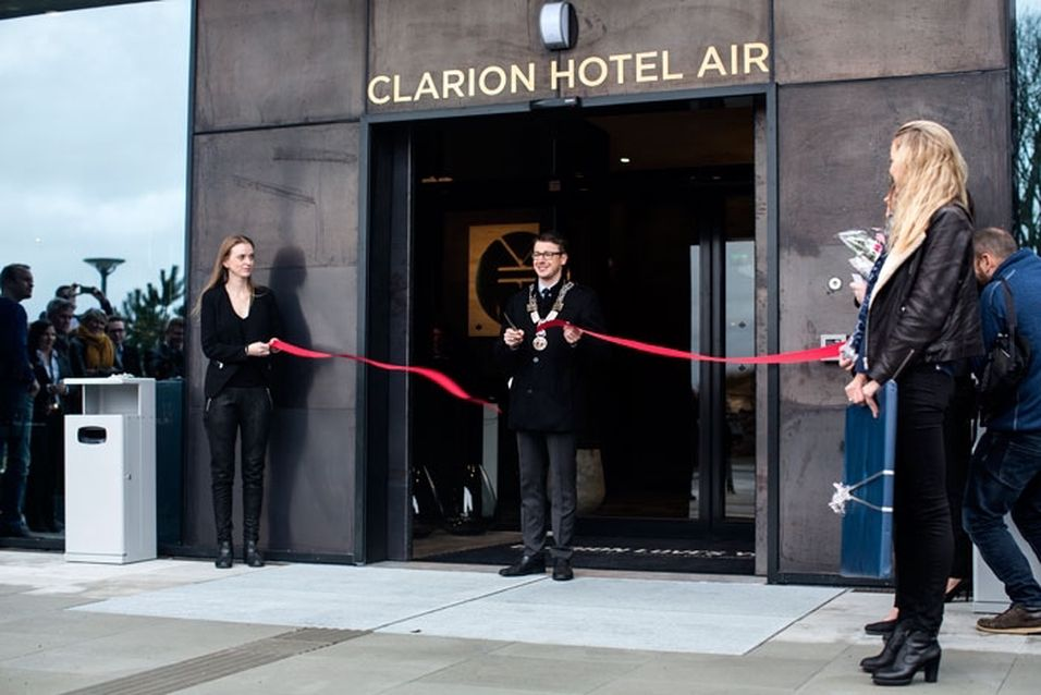 Åpning for Clarion Hotel Air