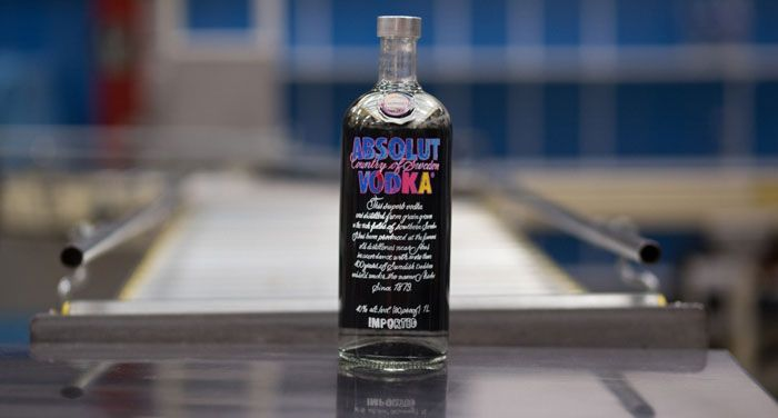 Absolut hyller Andy Warhol