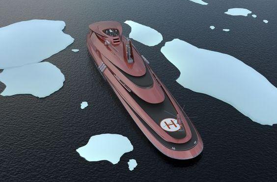 Russiske atomskip skal brøyte seg gjennom den arktiske isen