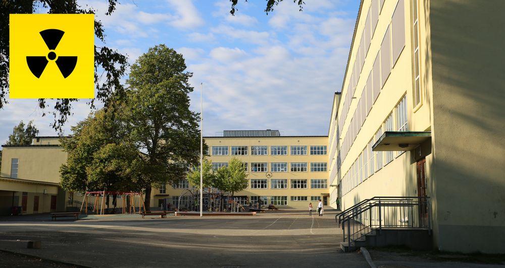 Sinsen skole får kritikk fra Strålevernet for å ha levert fra seg uran på feil sted uten skikkelig merking.