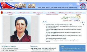 Et av propaganda-nettstedene Nord-Korea tilbyr hele verden.